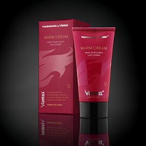 VIAMAX WARM CREAM (50 ml) - Orgasmos Quentes