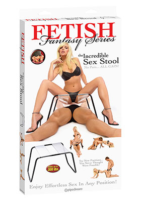 *** ESGOTADO *** - BANCO THE INCREDIBLE SEX STOOL