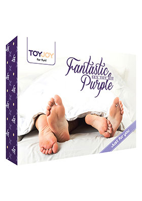 TOYJOY - FANTASTIC PURPLE SEX TOY KIT