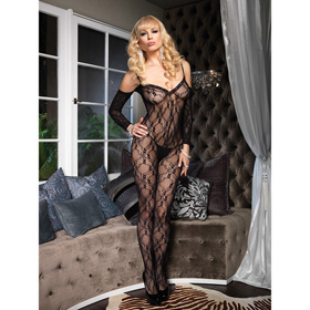 CATSUIT LA FLOWER LACE