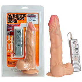 VIBRADOR AUTHENTIC REACTION DONG WHITE