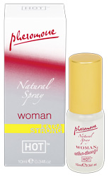 HOT WOMAN PHEROMONE - natural spray extra strong