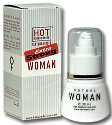 HOT WOMAN PHEROMONE GEL - extra strong