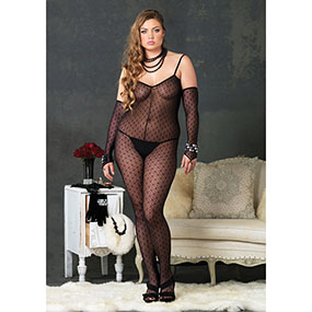CATSUIT LA MINI DAISY LACE UP