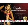 *** ESGOTADO *** - SET 40 NAUGHTY BACHELORETTE TATTOOS
