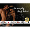 *** ESGOTADO *** - SET 40 GET NAUGHTY PARTY TATTOOS