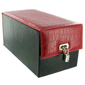 *** ESGOTADO *** - DEVINE TOY BOX RED CROCO