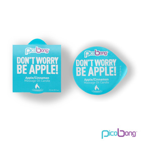 PICOBONG - VELA DE MASSAGEM APPLE CINNAMON (15 ML)