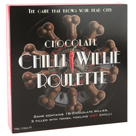 *** ESGOTADO *** - ROLETA CHOCOLATE CHILLI WILLIE