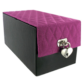 *** ESGOTADO *** -  DEVINE TOY BOX PURPLE QUILT