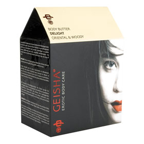 *** ESGOTADO *** - BODY BUTTER GEISHA DELIGHT (200 ML)